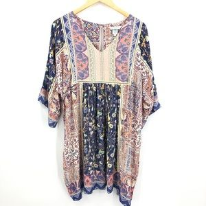 Sundance Dresses - Sundance Floral Boho Kimono Dress Sz Petite large